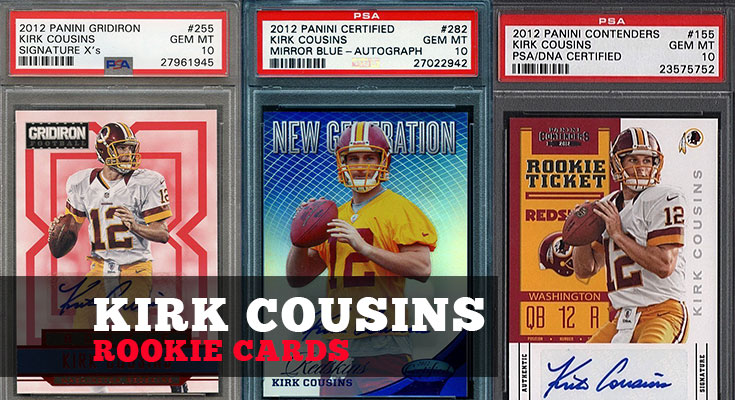 Top Selling Kirk Cousins Rookie Cards To Invest In Psa