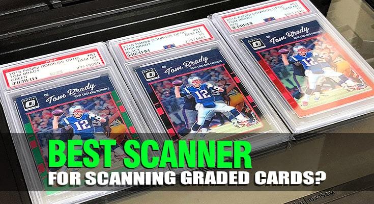 best scanner for scanning graded sports cards psa bgs pokemon