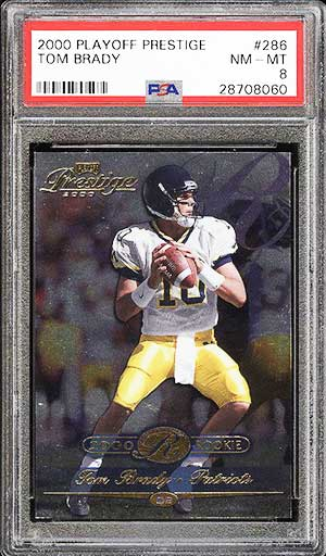 Top 50 Tom Brady Rookie Cards Best Psa Graded Tom Brady Rc List