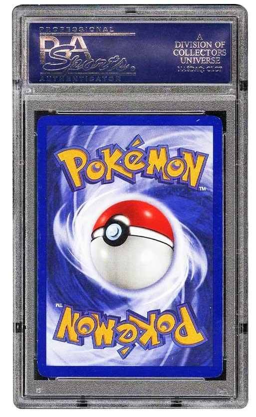 1999 Pokemon Charizard 1st edition Graded psa 10 Gem Mint #4 back side