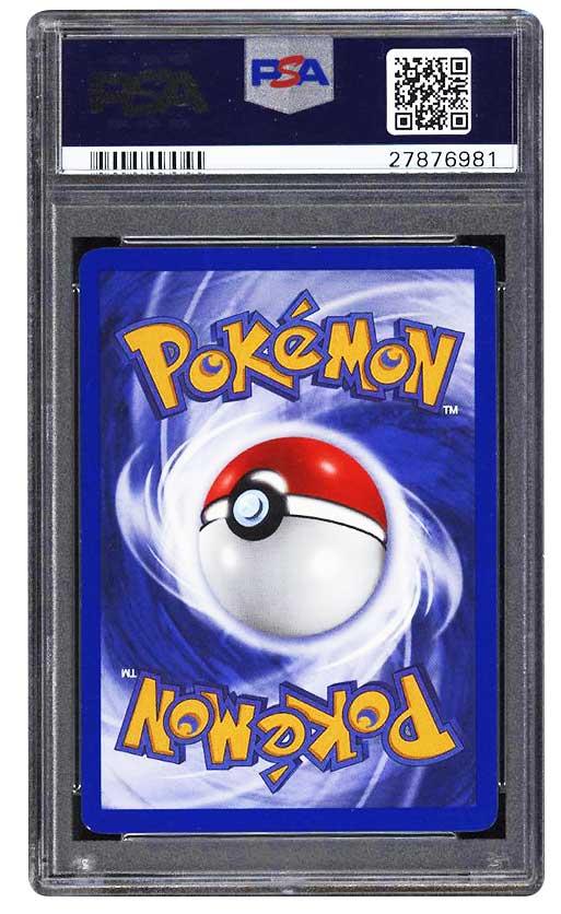 1999 charizard 1st edition back psa graded 9 mint #4