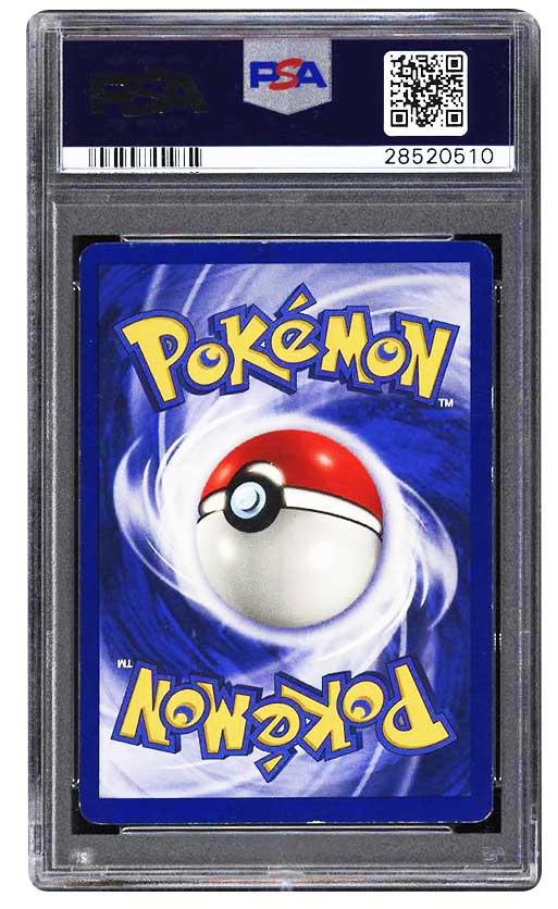 1999 pokemon charizard holographic psa graded 7 #4