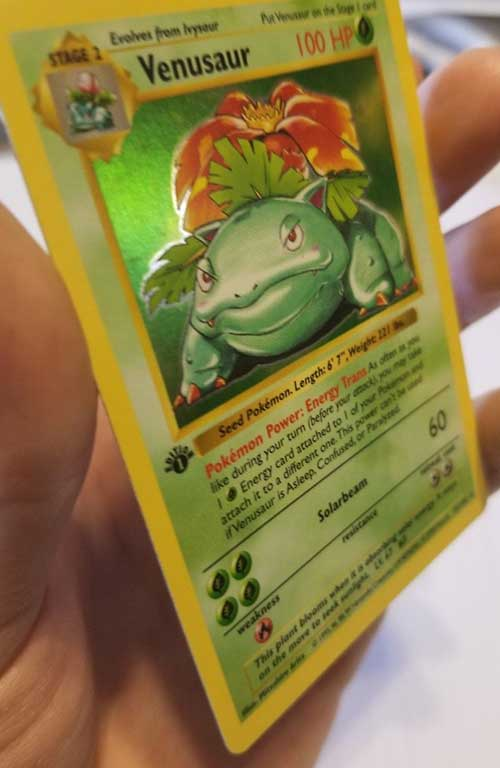 how to grade pokemon cards holographic scratching 5