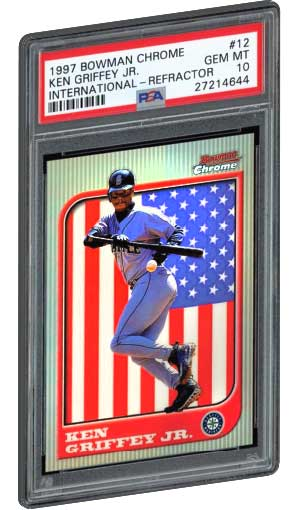 Top 20 Ken Griffey Jr Rookie Card List Baseball Card Values