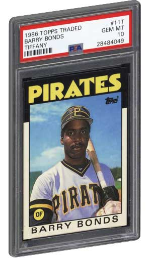 Best Barry Bonds Rookie Baseball Card Psa Graded Fleer