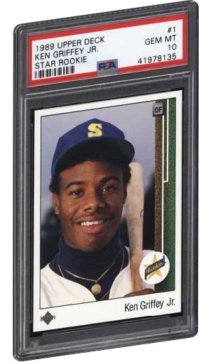 b5b1b4964e Best Ken Griffey Jr Rookie & Refractor Baseball Cards | PSA GRADED