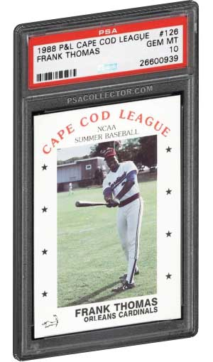 Top 20 Frank Thomas Rookie Card Inserts Psa Graded Value