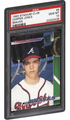Top Chipper Jones Rookie Card Refractor And Inserts Psa