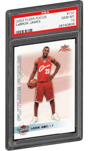 be045d23258 Lebron James Rookie Card Values & Checklist | PSA Graded Best Selling