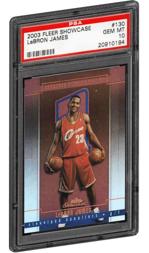 buy online 19909 a19ee Lebron James Rookie Card Values & Checklist | PSA Graded ...