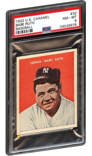 Top 10 Babe Ruth Baseball Card List Highest Selling Psa Graded Value