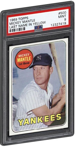 Top 15 Mickey Mantle Baseball Card List Psa Graded Value