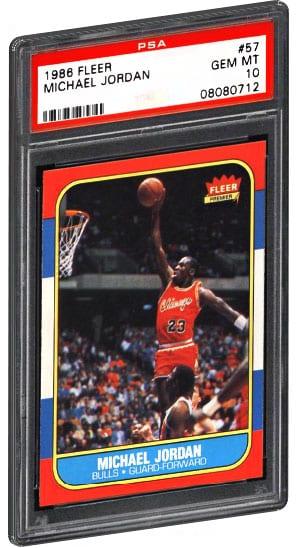 Top 20 Most Valuable Michael Jordan Basketball Card List Psa Graded