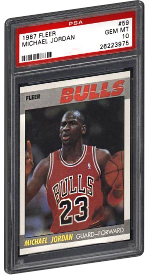 Top 20 Most Valuable Michael Jordan Basketball Card List Psa Graded