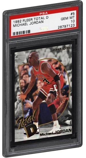 TOP 20 - Most Valuable Michael Jordan Basketball Card List - PSA Graded