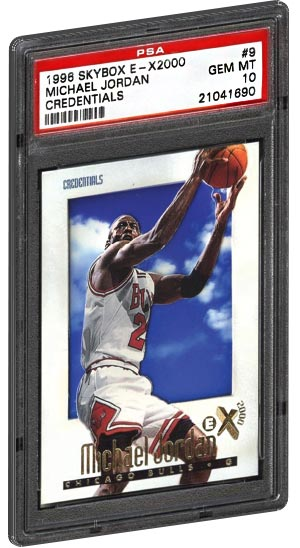 7e852d66fb8ad2 TOP 20 - Most Valuable Michael Jordan Basketball Card List - PSA Graded