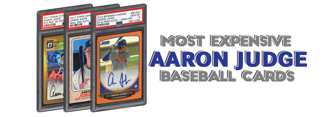 Aaron Judge Rookie Card Values Highest Selling Psa Graded Rc Cards