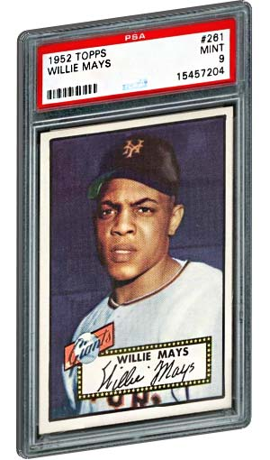 Top 15 Willie Mays Baseball Card List Psa Graded Topps Rookie Value