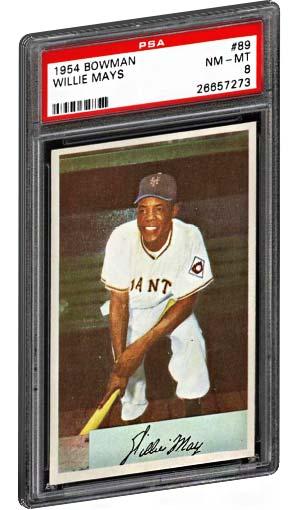 Top 15 Willie Mays Baseball Card List Psa Graded Topps