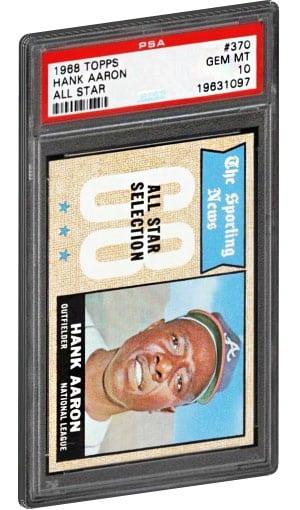Top 15 Hank Aaron Baseball Card List Rookie Card Psa Graded