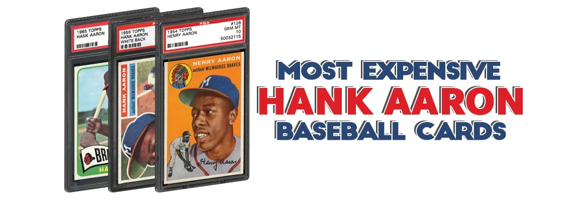 Top 15 Hank Aaron Baseball Card List Rookie Card Psa Graded