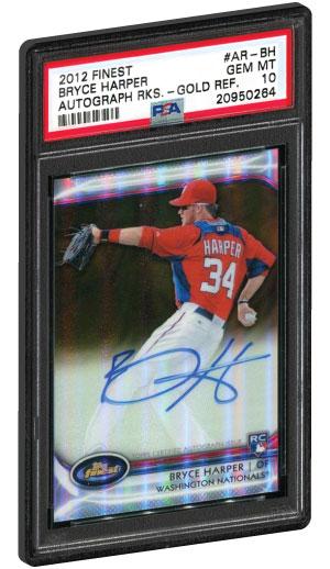 Verzamelkaarten: sport 2011 Bowman Chrome Futures Refractor #1 Bryce Harper Washington Nationals Card Honkbal