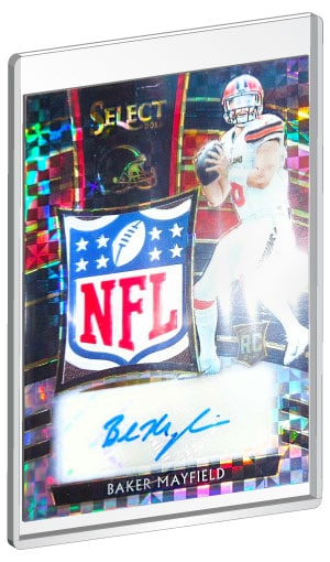 sports shoes d1716 d6ca1 Highest Selling Baker Mayfield Rookie Card List | Baker ...