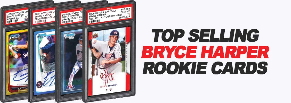 Top selling Bryce Harper Rookie Cards baseball cards 2