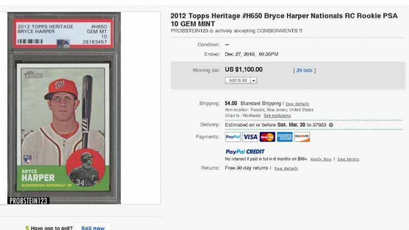 Top 15 Bryce Harper Rookie Card List Bowman Topps Chrome