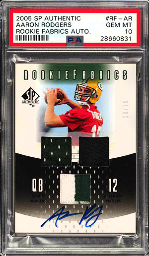 Top 15 Aaron Rodgers Rookie Card List Which Is His Most