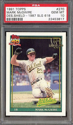 Top 15 Mark Mcgwire Baseball Card List 1984 Rookie Card Value