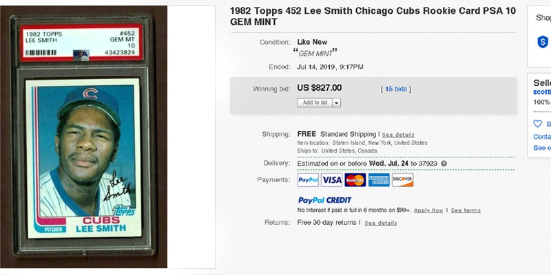 Most Valuable Baseball Cards From The 1980s Baseball